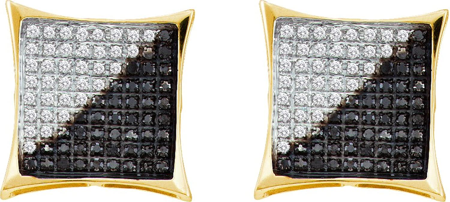 1 10 Total Carat Weight DIAMOND MICRO PAVE EARRING