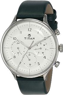 Titan Light Leathers Analog White Dial Men's Watch 90102SL03/NN90102SL03