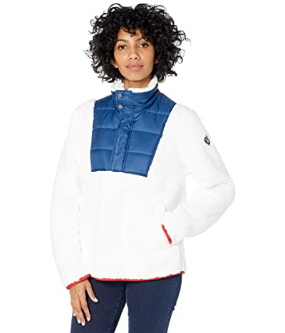 Spyder Boulder Anorak Fleece Jacket (White Abyss) Women