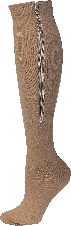 NextGen Active Calf High Zipper Compression Socks