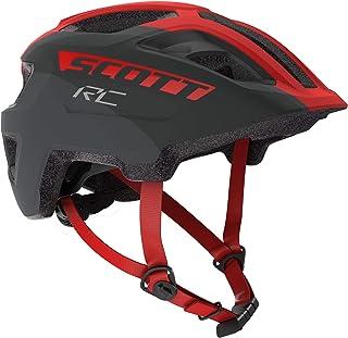 275232 - Casco de Bicicleta Unisex para niño, Color Gris y Rojo