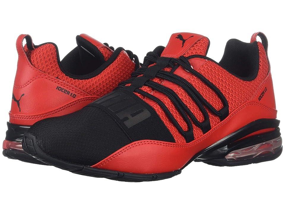 fbc77a44eff644 PUMA Cell Regulate Winterized Mesh (High Risk Red Puma Black) Men s Shoes