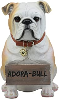 Ebros Max Realistic Large English Bulldog Statue 12
