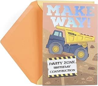 Hallmark Birthday Card for Kids (Hasbro Tonka Truck)