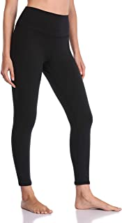 Women's Ultra Soft High Waisted Seamless Leggings Tummy...