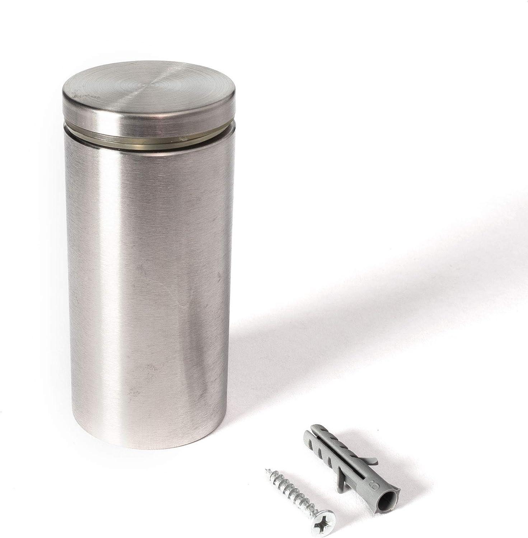 Stainless Steel Max 59% OFF Standoff Inexpensive 1-1 2 Inch 3 x Diameter Barrel Len