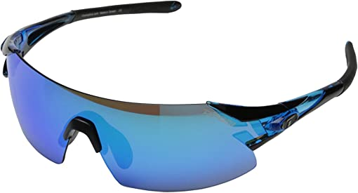 Crystal Blue/Clarion Blue/AC Red/Clear Lens