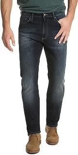 Wrangler Mens ZM4AF Authentics Premium Athletic Fit Jean Jeans - Blue