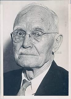 1934 Photo William Johnston Chief Justice KS Supreme Court Bench Politics Rare