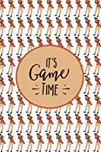 It's Game Time: Blank Journal and Baseball Notebook, Lined Pages, For Work or Home, To Do List, Fanbook, Planning, Strategy and Skills, Vintage Woman Player