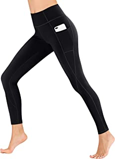 Heathyoga Yoga Pants with Pockets Extra Soft Leggings with Pockets for Women Non See-Through High Waist Workout Leggings