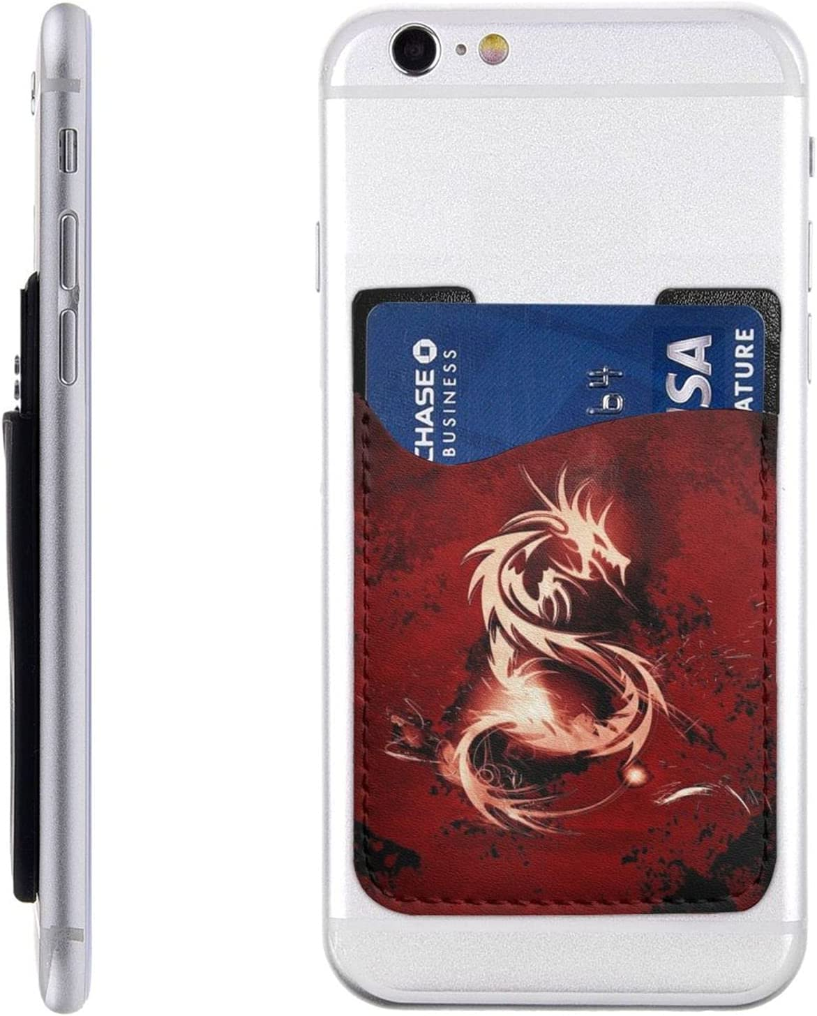 Blood Red Dragon Direct stock discount Phone Card Sales results No. 1 Wall Cell Holder Stick On