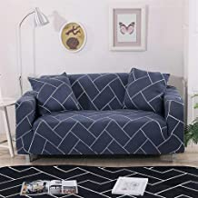 AUXCHENGFCAU Plaid Spandex Stretch Sofa Cover, Multi-Function Anti-mite and Dirty Furniture Cover Household dust Cover (Co...