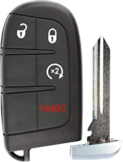 KeylessOption Keyless Entry Remote Car Smart Key Fob Starter for Dodge Journey Durango M3N-40821302