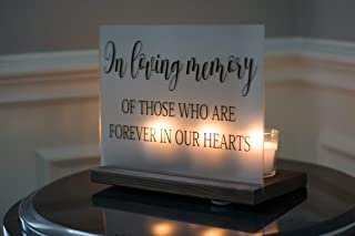 memorial candle holder for wedding
