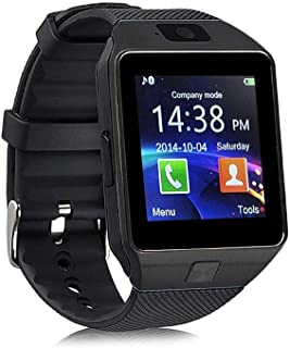 Ispite® DZ09 Bluetooth Smart Watch for Boys/Men/Women with Touch Screen | Compatible with All 3G, 4G Phone Camera and Sim Card Support - Multicolor