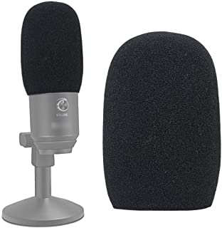Foam Mic Windscreen, Pop Filter Wind Cover fits for Fifine K670 USB Condenser Recording Microphone by SUNMON