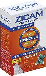 Zicam Cold Remedy Plus Oral Mist Arctic Mint - 1 oz, Pack of 2