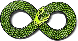 Matfords Infinity Symbol Snake Pin Badge - UK Company