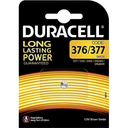 Duracell Uhrenbatterie Sr66 1er Pack Elektronik