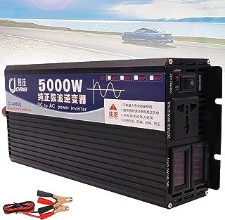 Power Inverter Inversor De Onda Senoidal Pura Dc 12v 24v 48v 60v Para Ac 110v 220v Com Lcd Duplo Display Digital Tomadas A...