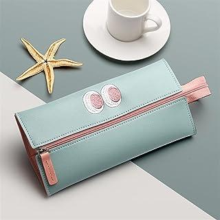 حافظة أقلام رصاص محمولة بسعة كبيرة قلم رصاص لطيف حقيبة مدرسية كاواي (اللون: أ)