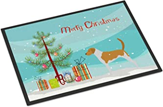 "Caroline's Treasures Affenpinscher Merry Christmas Tree Indoor or Outdoor Mat 18x27 BB2966MAT 18"" x 27"" Multicolor, Christ..."