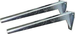 Sunload Plankdragers voor zware lasten L-profiel console verzinkt staal (2 x 380 mm)
