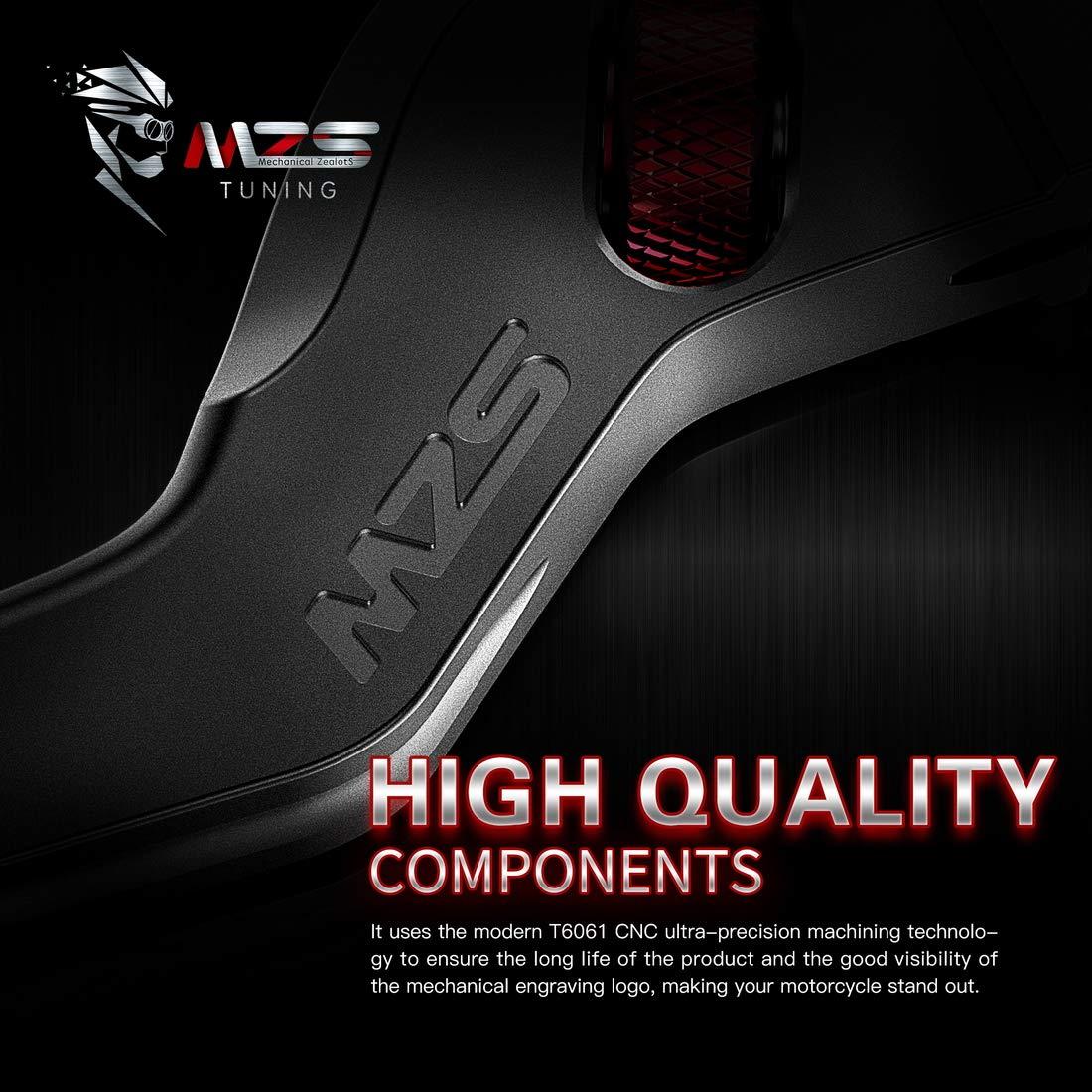 MZS ME-1111 Brake Clutch Short Levers Wheel Roller Adjustment Black