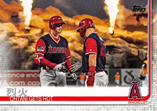 2019 Topps Series 2#367 Ohtani Gets Hot