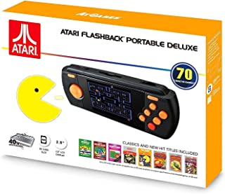 Atari Flashback Portable Deluxe built-in 70 Games SD Card slot Especial Edition