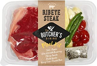 The Butcher's Dining Ribeye Steak Meal Kit, 410g- Chilled