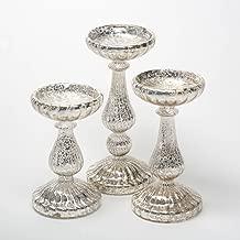 Best mercury glass pillar Reviews