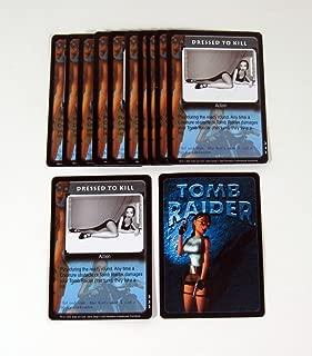 Lot of (12) 2000 Precedence Lara Croft Tomb Raider CCG Promo Card (#222) Nm/Mt