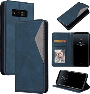 LODROC Lederen Portemonnee Case voor Samsung Galaxy Note 8, [Kickstand Feature] Luxe PU Lederen Portemonnee Case Flip Foli...