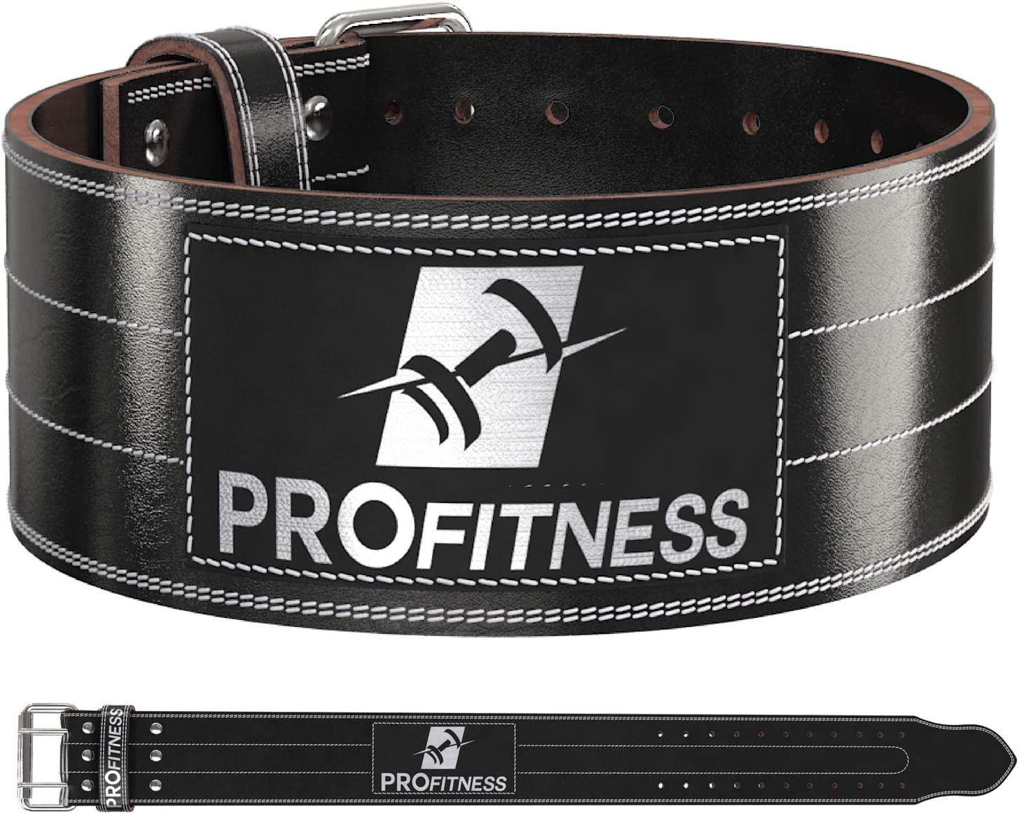 Weight Lifting Belt 4 Inch Fort Worth Mall It is very popular – Wide Workout Leather Genuine