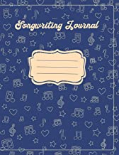 Songwriting Journal: Lined/Ruled Paper And Staff, Manuscript Paper For Notes, Lyrics And Music. For Kids, Musicians, Students, Songwriting. (Book Notebook Journal 100 Pages 8.5x11)