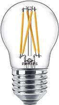 Philips WarmGlow 25W, E27, Warm White (2200-2700 Kelvin), 250 Lumen, Dimmable LED Lamp, Glass, 3.5 W, Clear
