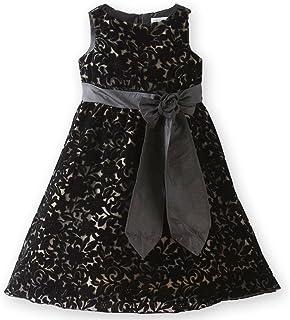 (キャサリンコテージ) Catherine Cottage子供服 PC607 透かしベロア花柄ドレス