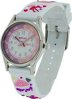 Reflex Time Teacher Kids White 3D Princess Watch REFK0010 + Telling Time Award