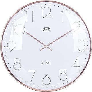 Trevi OM 3512 S Wall Clock 31 x 31 x 6 cm Gold
