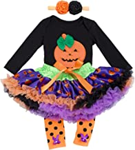 Halloween Outfits for Baby Girls - Newborn Toddlers Onesie Tutu Skirt Set Gift