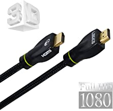 LOGICO High Speed HDMI Cable 20 FT 2.0 1080P Ethernet-Audio Return 3D DVD PS3 HDTV