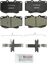 Bosch BC799 QuietCast Premium Ceramic Disc Brake Pad Set For Toyota: 2006-2011 Hilux, 1999-2004 Tacoma; Front