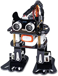 SUNFOUNDER Robotics Kit, 4-DOF Dancing Sloth Programmable DIY Robot Kit for Teenagers 14+ and Adults with Tutorial