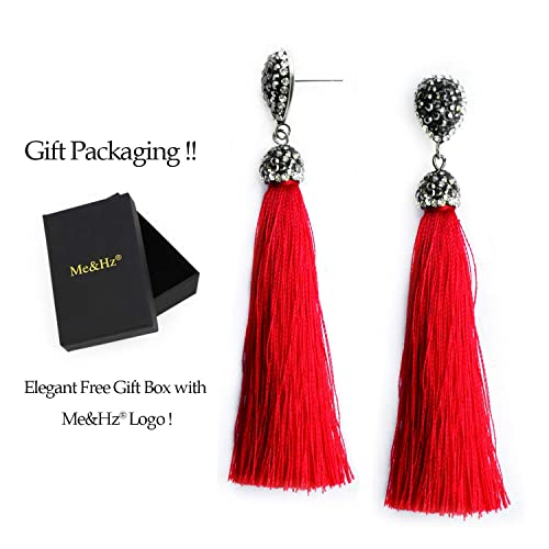 775013e12 Tassel Tear Drop Stud Earrings Stainless Steel Rhinestone Fringe Dangle  Earrings Vintage Jewellery Gifts for Women