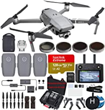 $2299 » DJI Mavic 2 Zoom with Smart Controller Ultimate Bundle (3 Batteries, Charging Hub, ND Filters, 128 GB Extreme microSD Card and More)