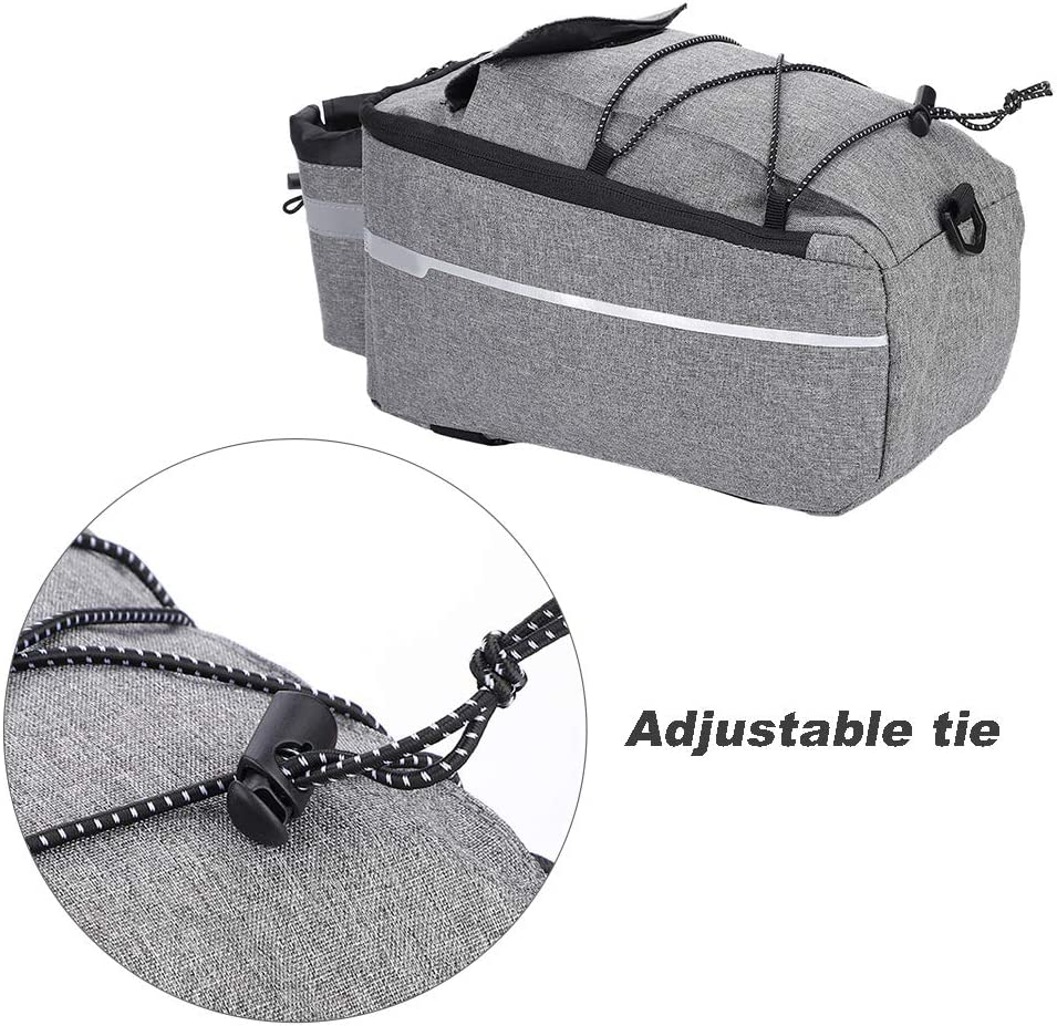 Bike Tail Storage Bag Bicycle Rear Bag Mountain Road Bike Trunk Pouch Package for Outdoor Activities