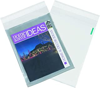 2000 Pack #1 6 x 9 Inch Oknuu Packaging Supplies Clear View Poly Mailers Self-Sealing Shipping Envelopes Plastic Mailing Bags 2.5 Mil Thickness 6