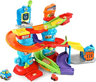 VTech Go! Go! Smart Wheels Launch and Chase Police Tower, Great Gift For Kids, Toddlers, Toy for Boys and Girls, Ages 1, 2, 3, 4, 5